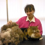 Anneka with Svetlana - the Best Groomer in the Universe!!!