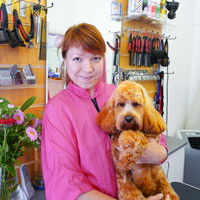 Picture of Inga - stylist at Pet Universe