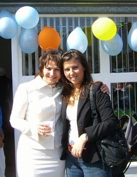 Picture of Svetlana with her daugther Vera