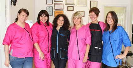 The Best Tutors of Pet Universe International Cat and Dog Grooming School with their Students
